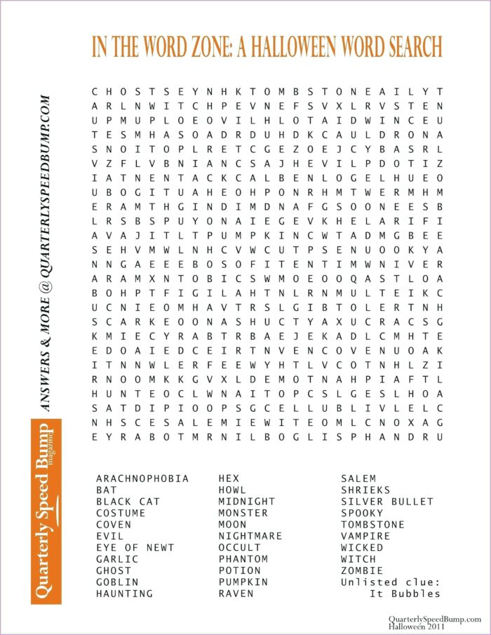 Difficult Large Print Word Search Printable