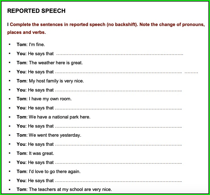 English Grammar Worksheets For Grade 5 With Answers