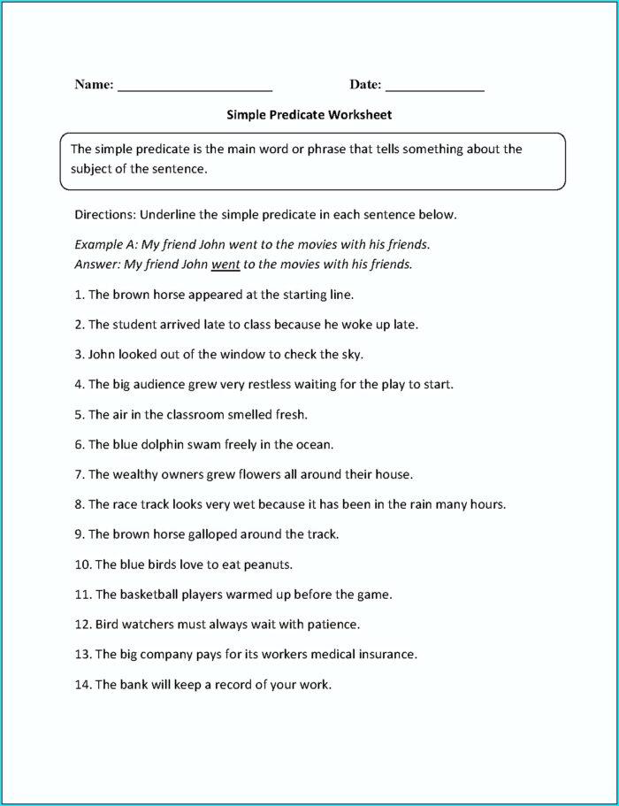 English Worksheet For Grade 1 Pdf