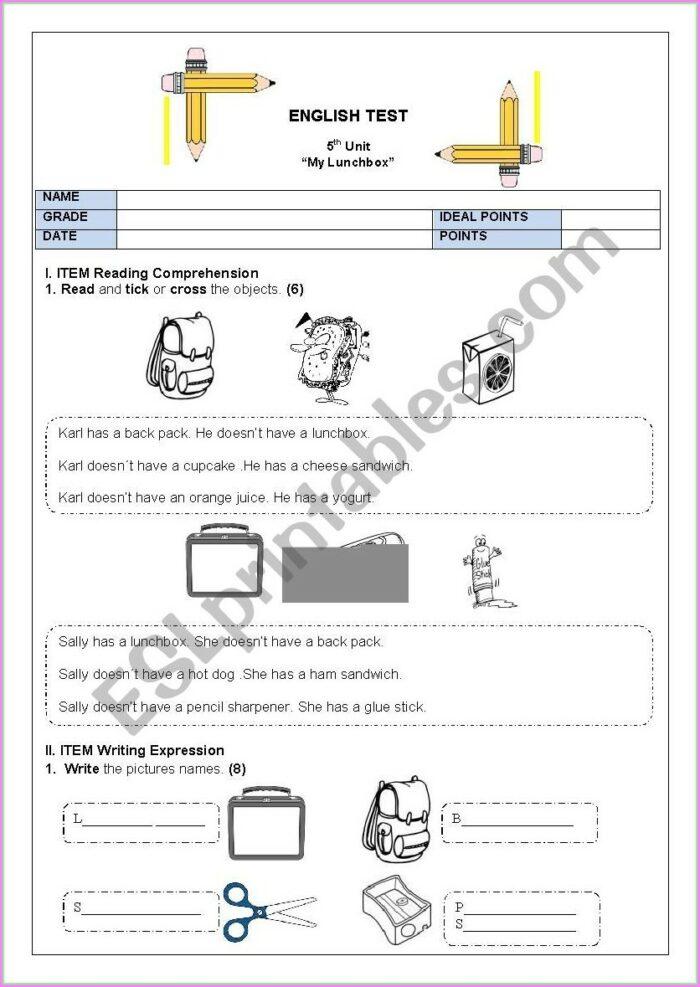 English Worksheet Have Has