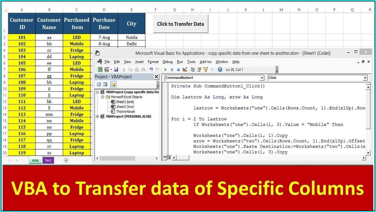 Excel Macro Next Sheet Select