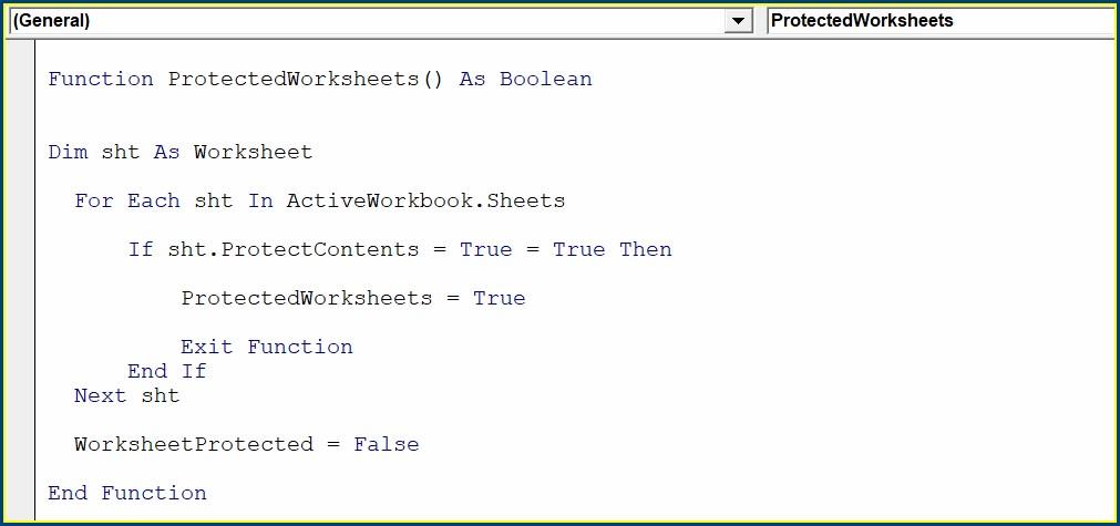 Excel Macro With Worksheet