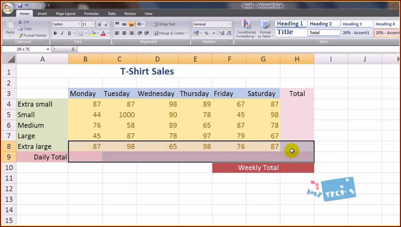 Excel Spreadsheet Like Quicken