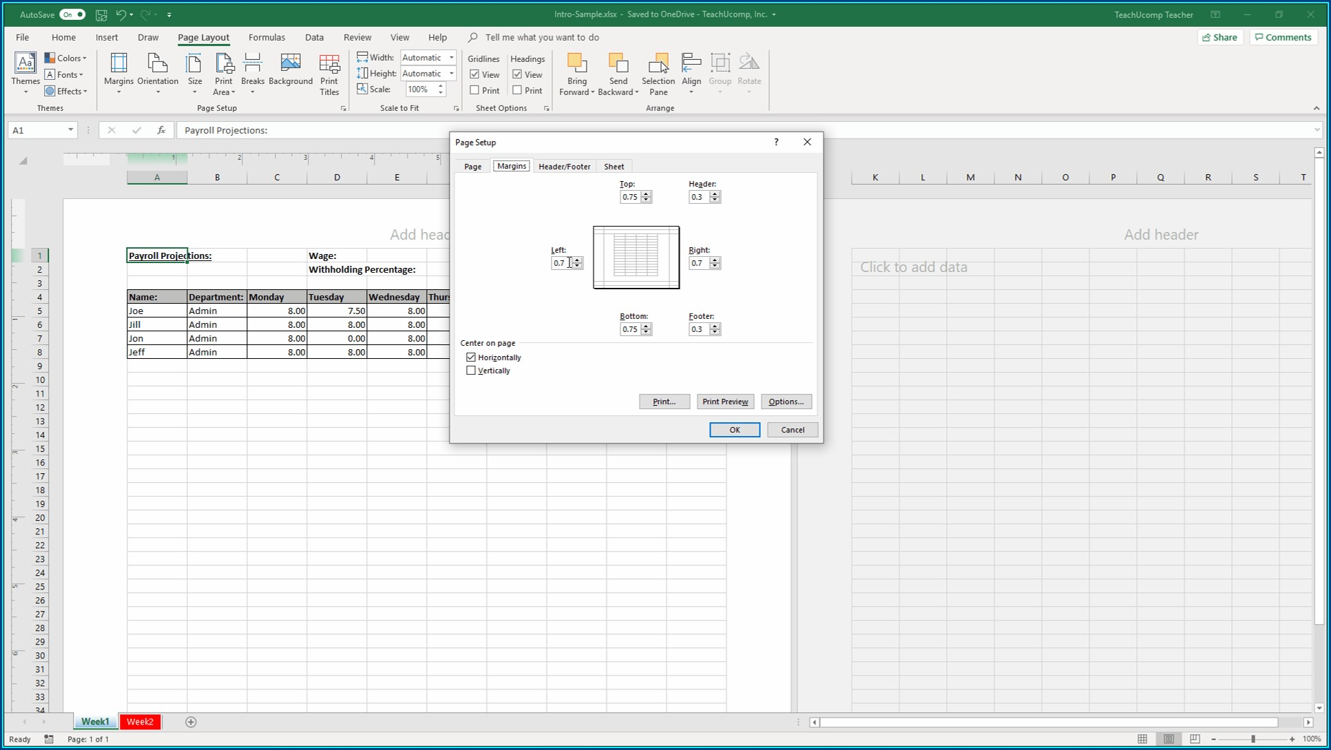 Excel Vba Set Active Worksheet As Variable
