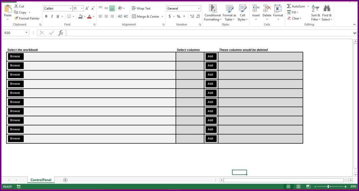 Excel Vba Sheet Range Clear