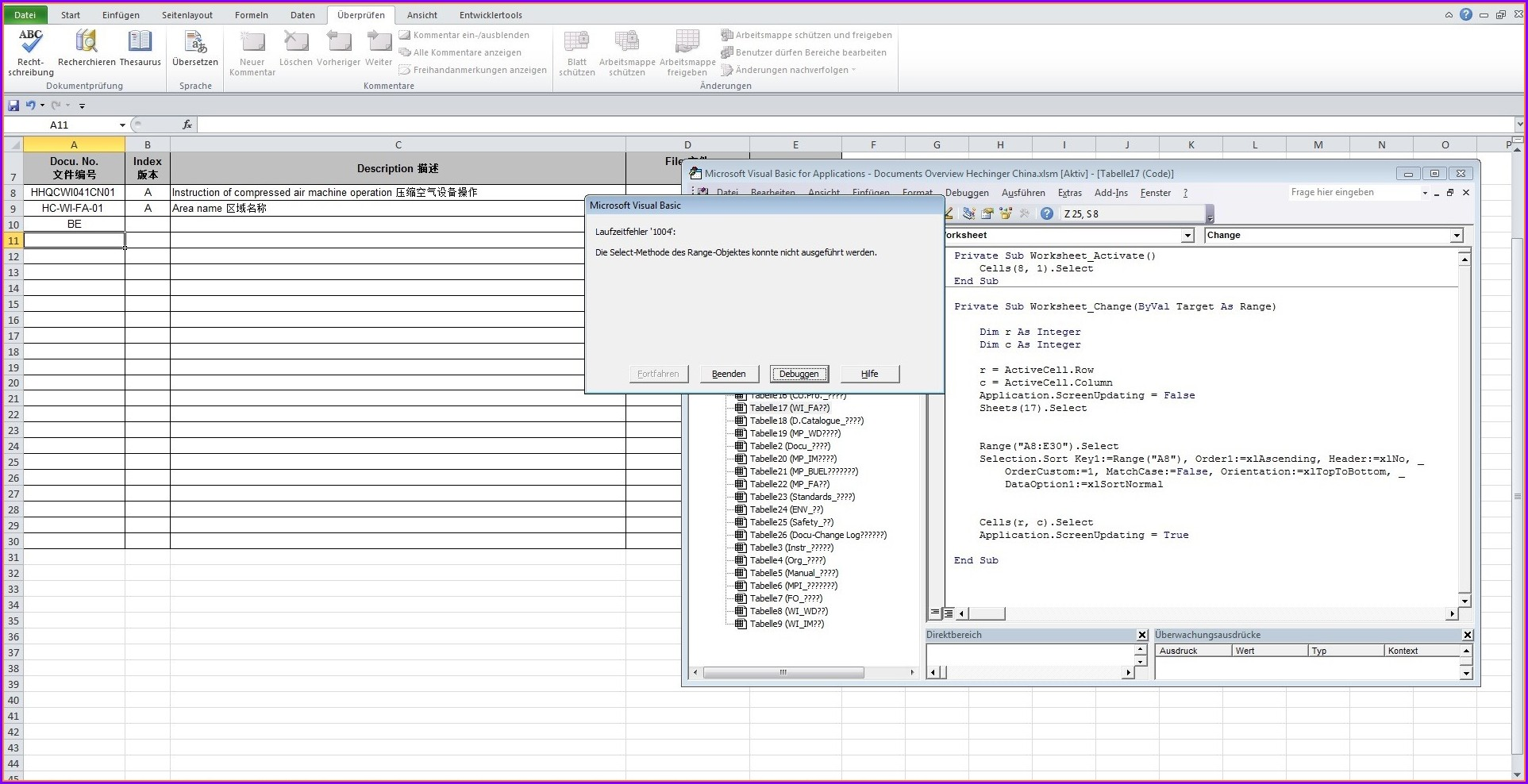 Excel Vba Sort Sheet Column