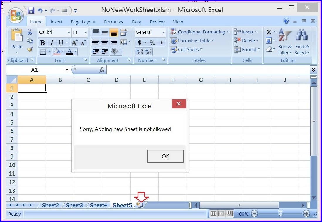 Excel Vba Worksheet Add Before