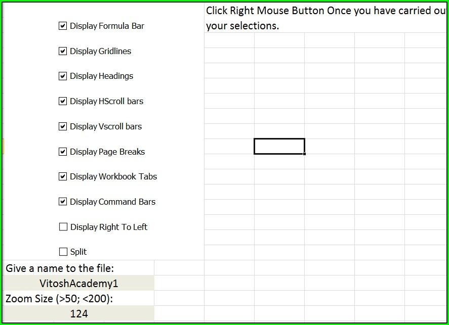 Excel Vba Worksheet Gridlines