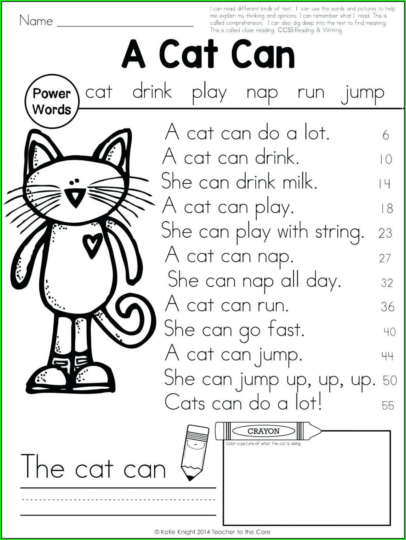 First Grade Dol Worksheets