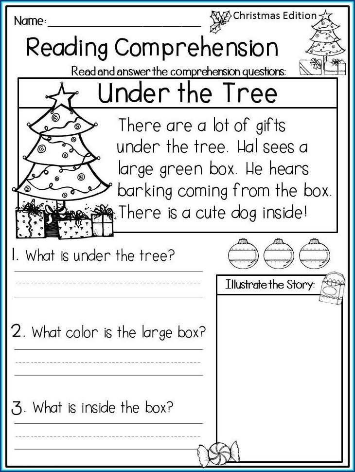 First Grade English Worksheets For Year 1
