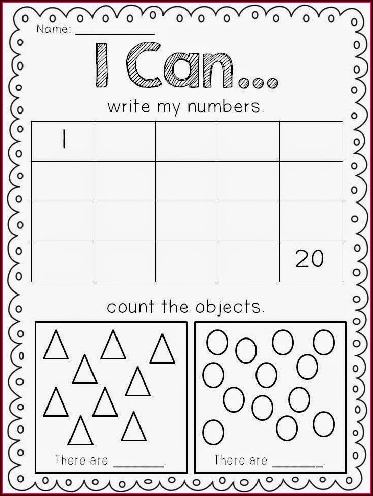 First Grade Math Readiness Worksheets