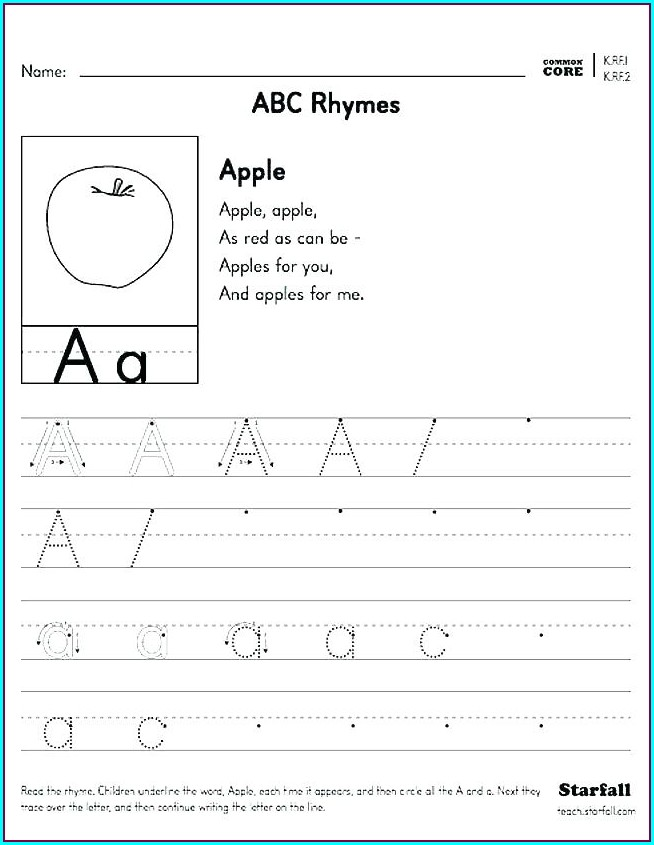 First Grade Rhyming Words Worksheet For Grade 1