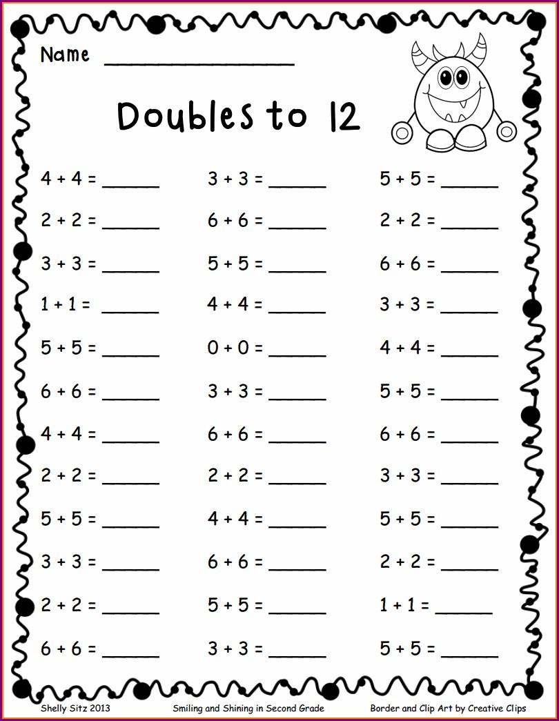 First Grade Worksheets Pdf