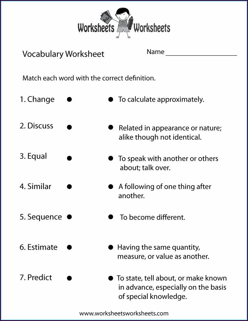 Free 9th Grade English Worksheets