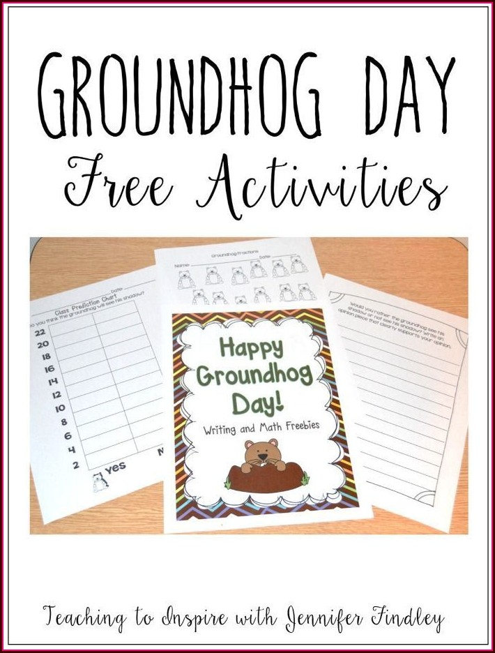 Free Groundhog Day Printables Kindergarten