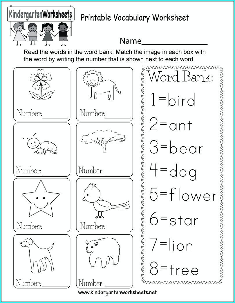 Free Letter V Worksheets Kindergarten