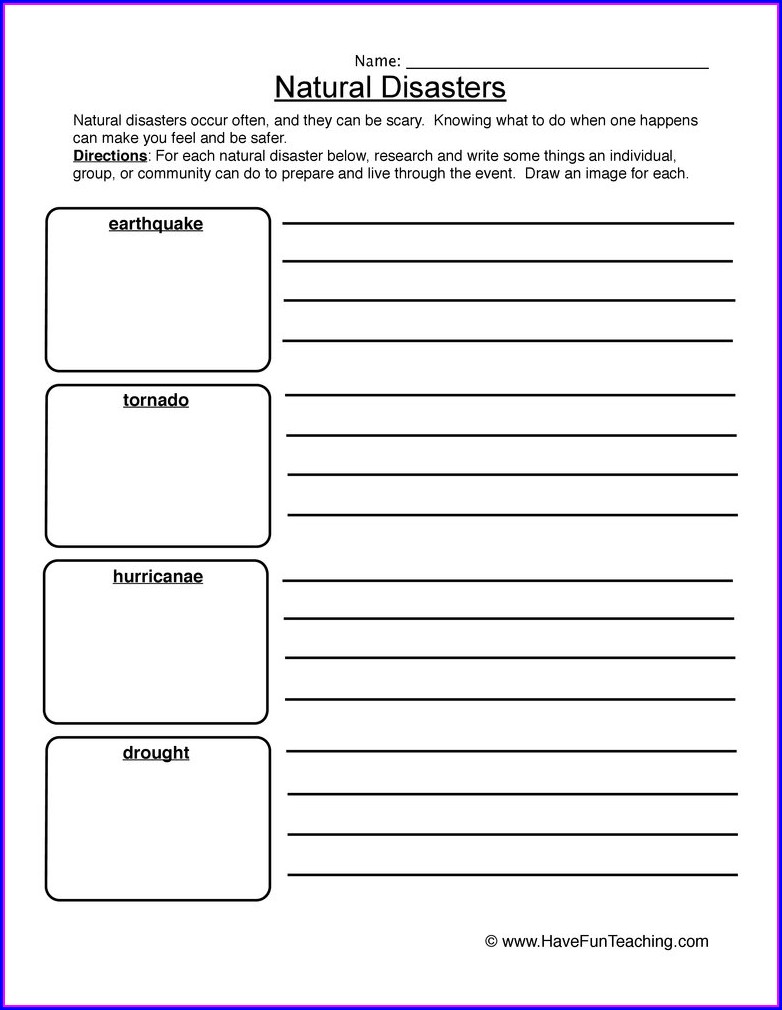 Free Natural Resources Worksheets 3rd Grade