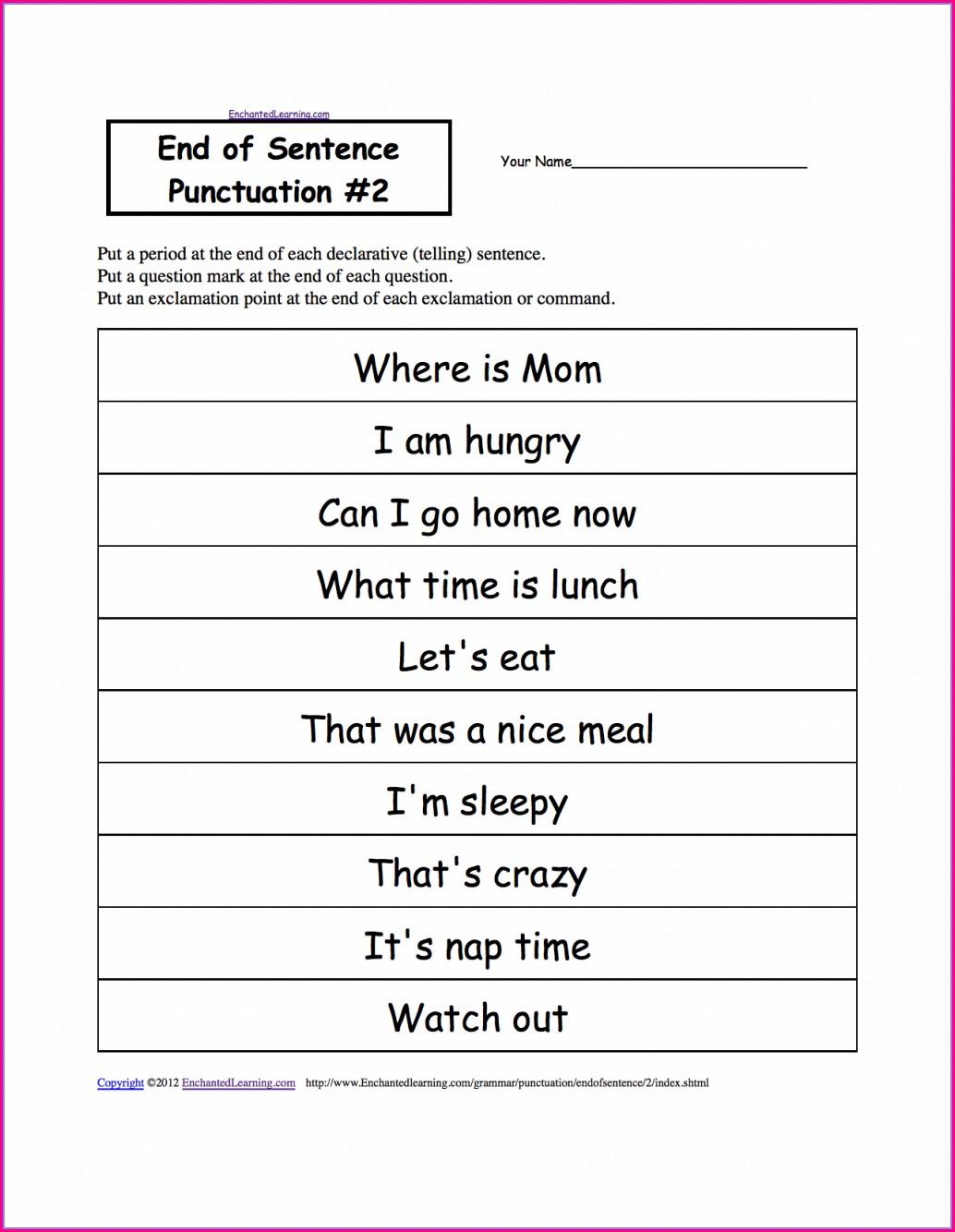 Free Printable 8th Grade English Worksheets
