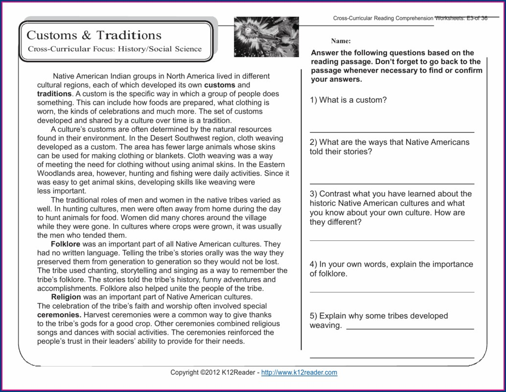 Free Printable Science Worksheets For Grade 5