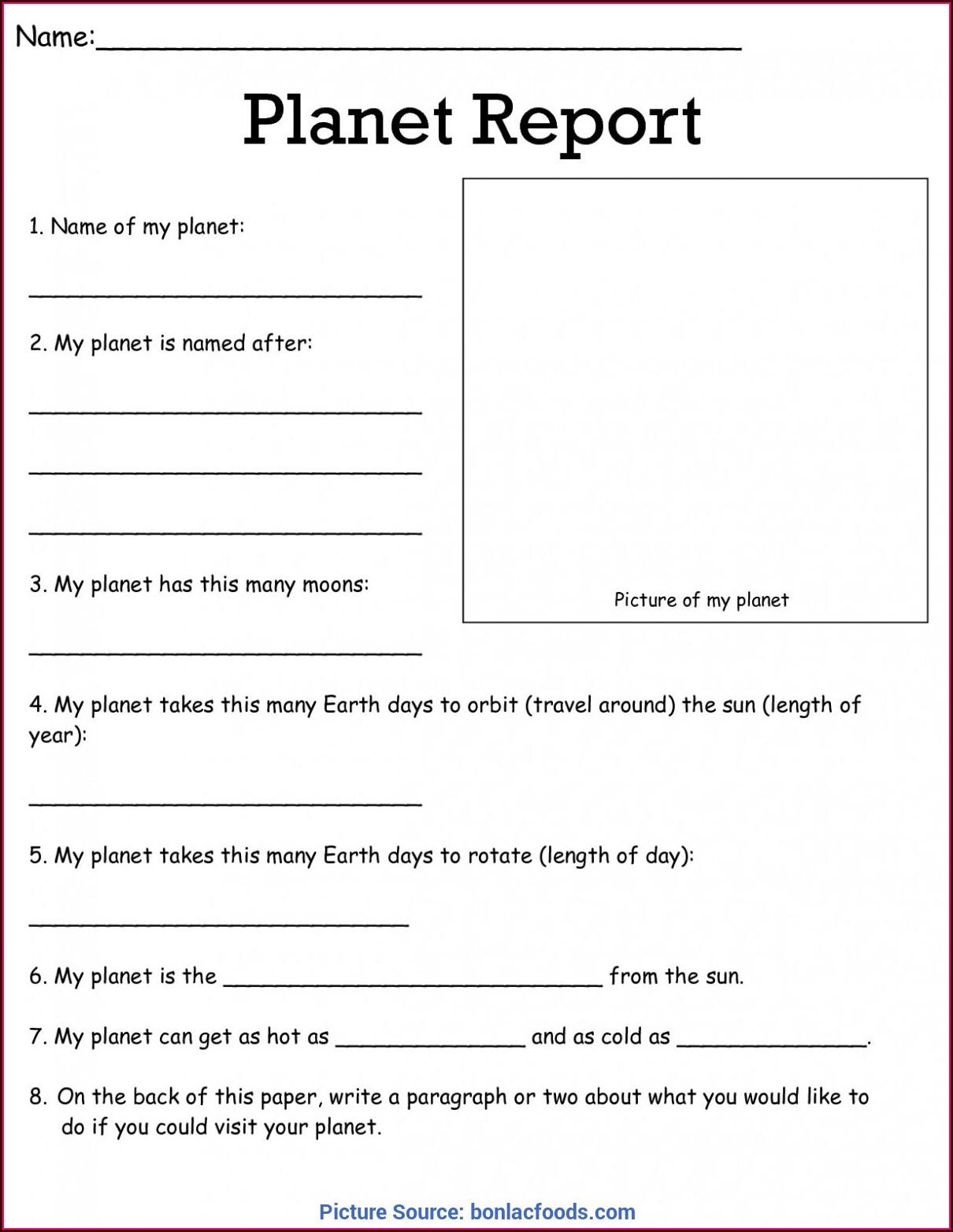 Free Science Worksheet Downloads