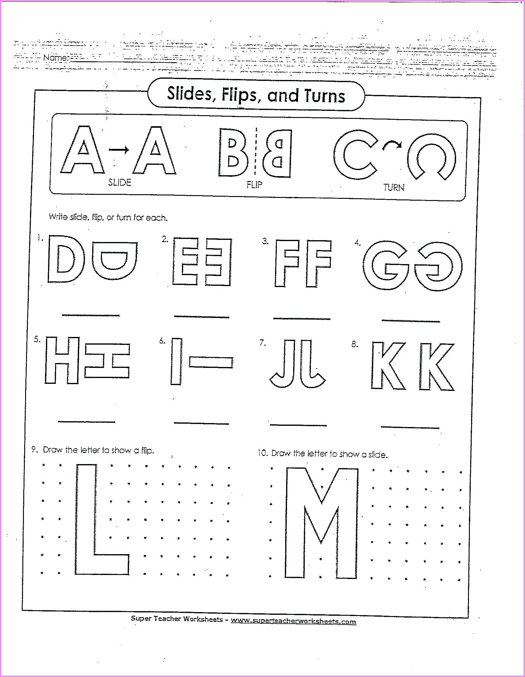 Fun Math Worksheets Preschool