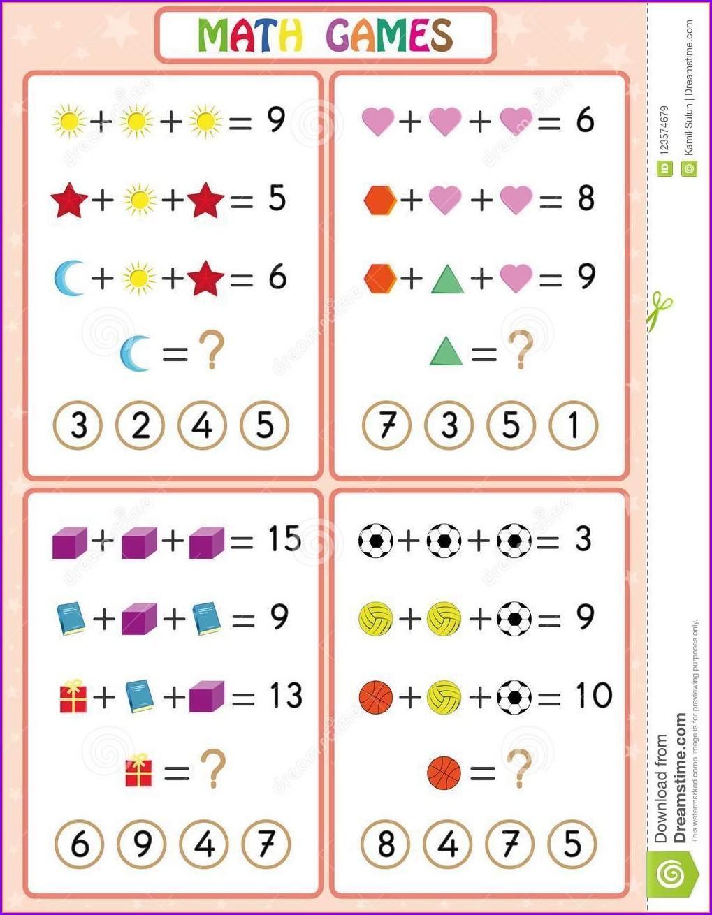 Fun Math Worksheets Using Calculators