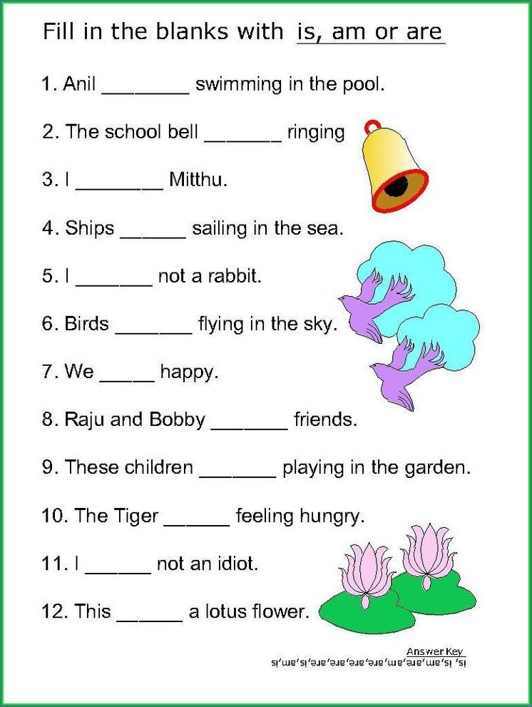 Grade 2 English Worksheets Grammar