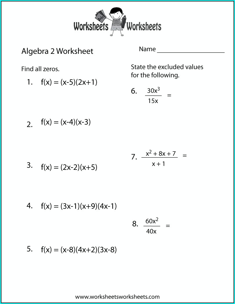 Grade 2 Math Algebra Worksheets