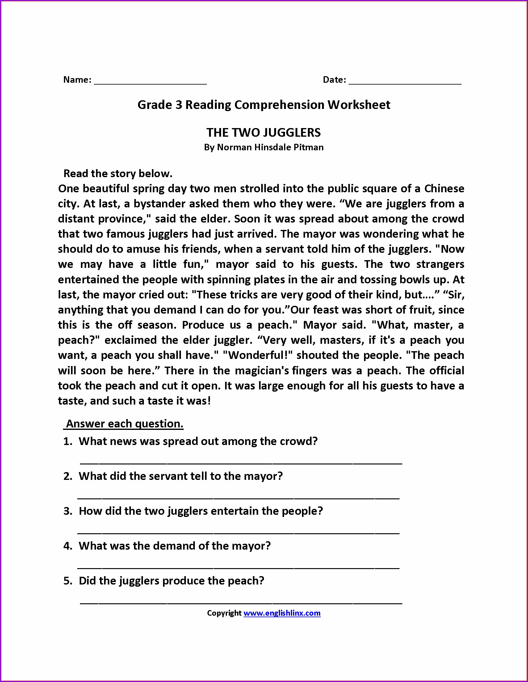 Grade 3 3rd Grade Weather Worksheets