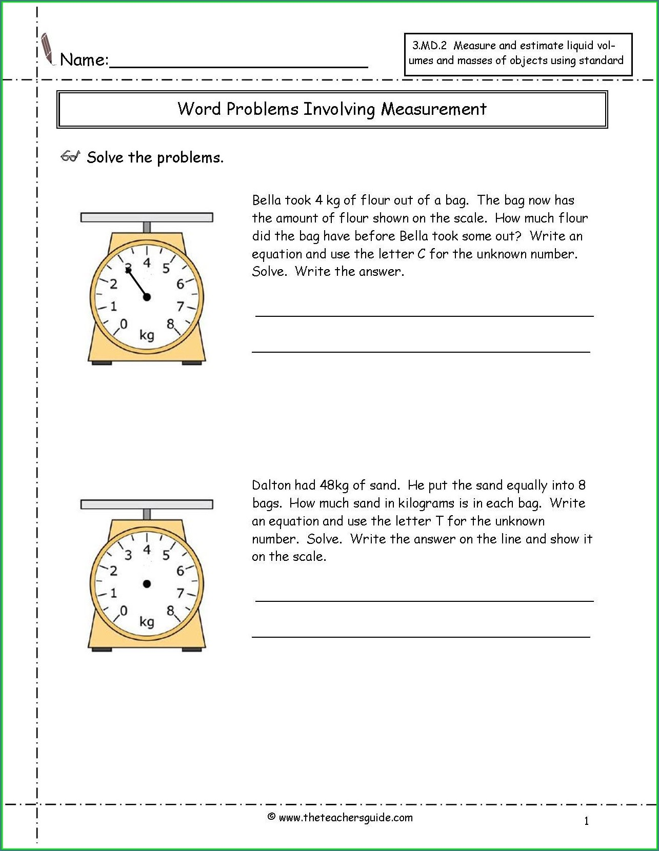 Grade 3 Time Worksheet