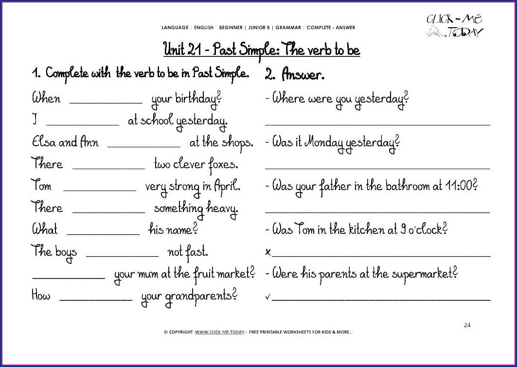 Grade 6 English Worksheets Printable Free