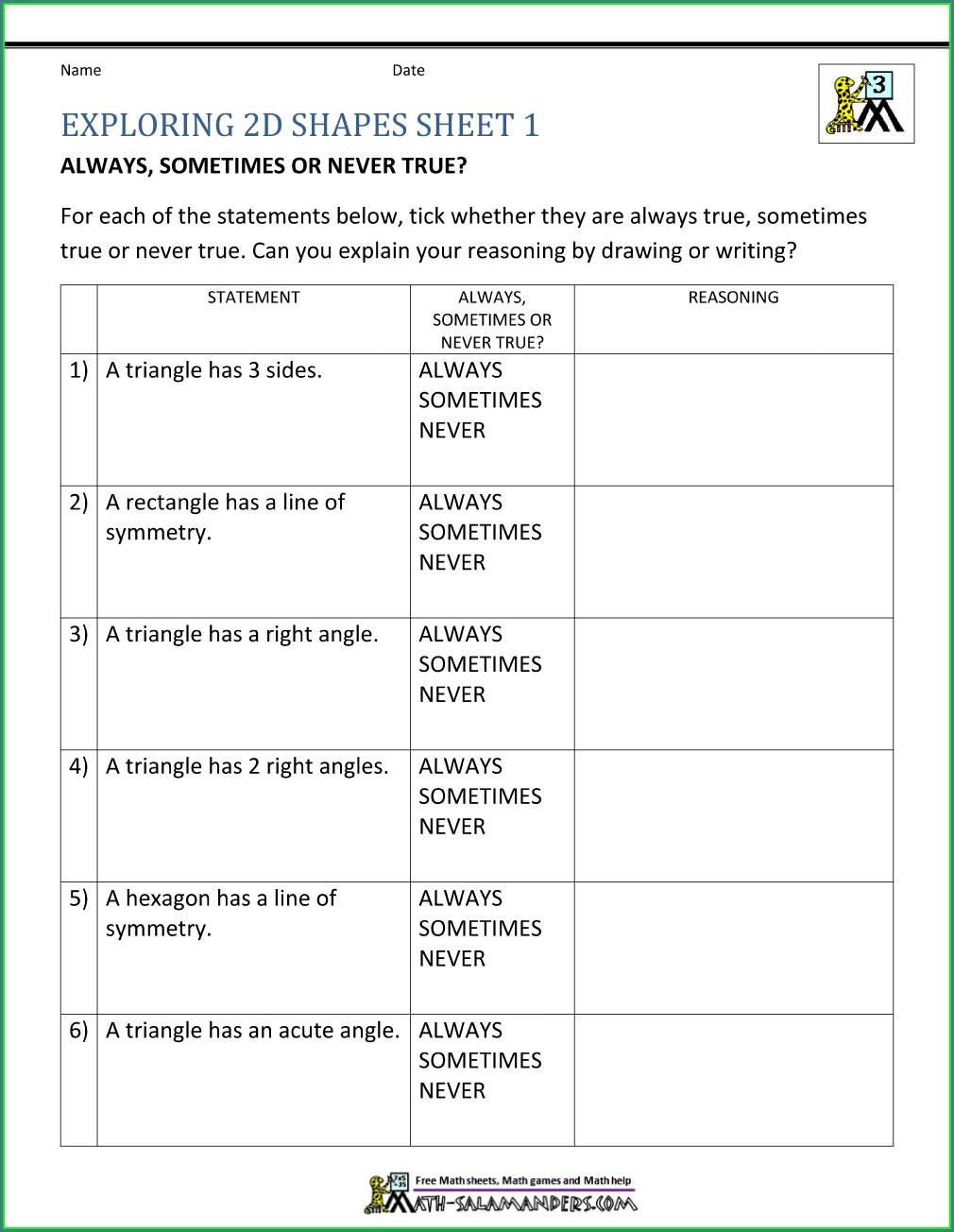 Grade 6 Properties Of Numbers Worksheet