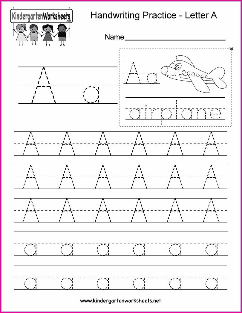 Handwriting Worksheet Makercom