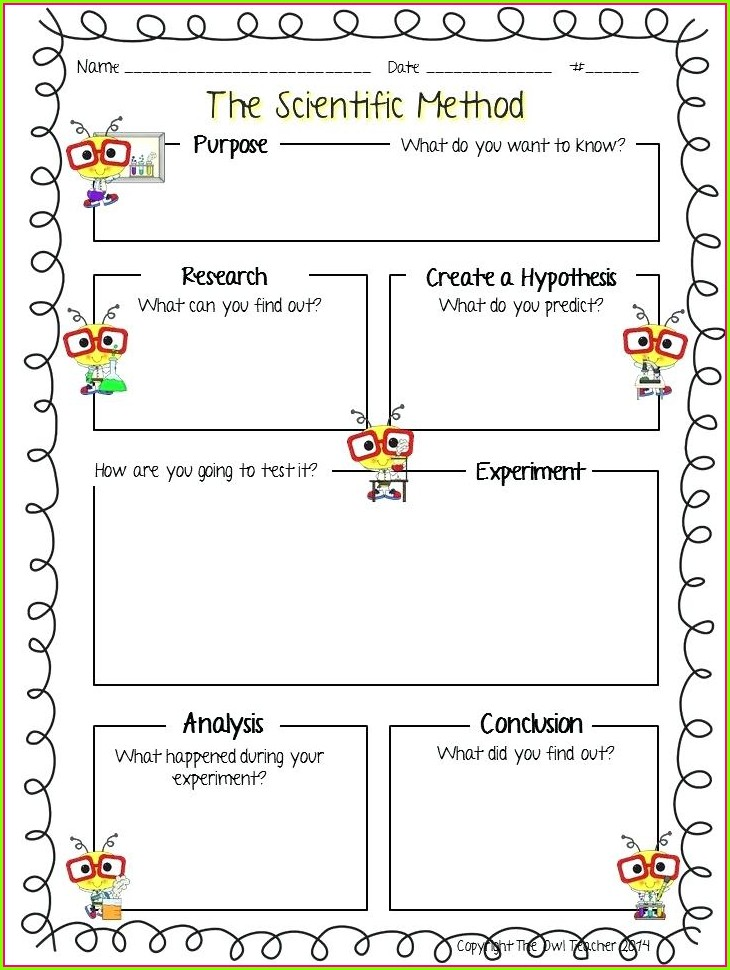 High School Answer Scientific Method Worksheet