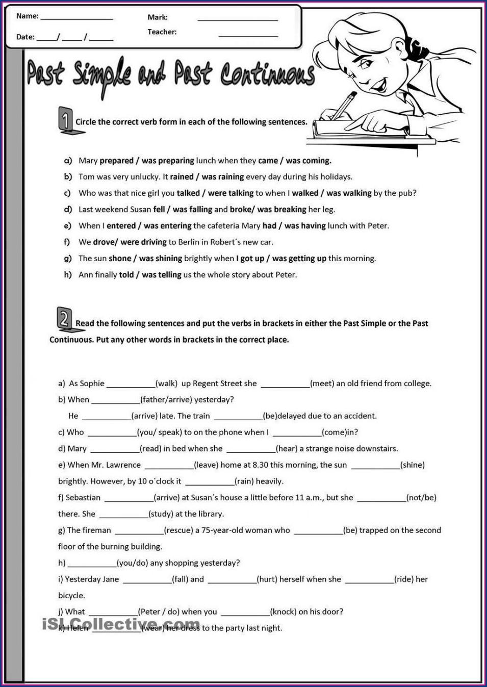 High School Correct Grammar Worksheets