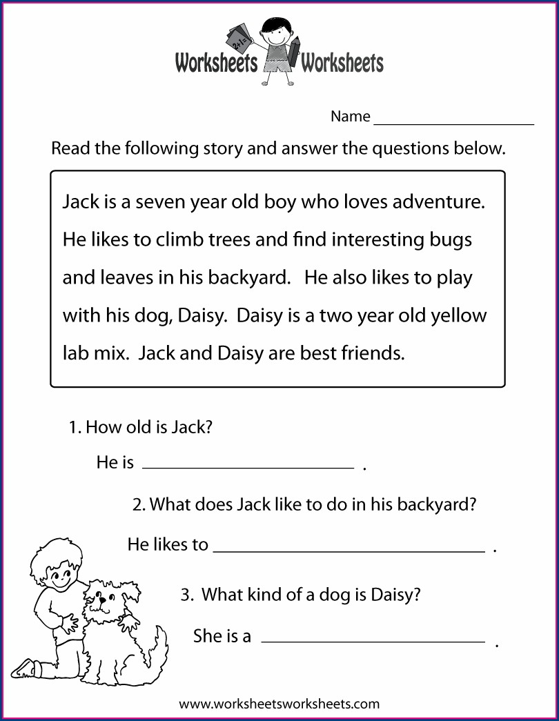 History Reading Comprehension Worksheets