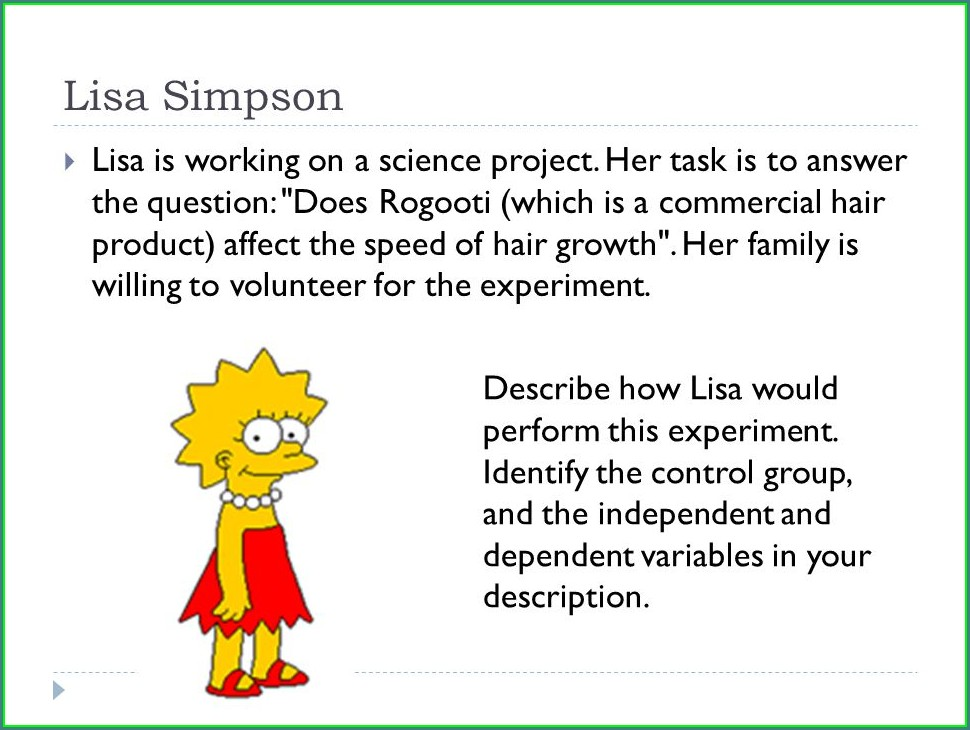 Homer Simpson Worksheet Scientific Method