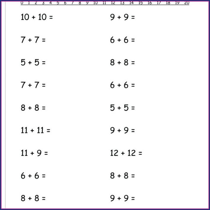 How To Make A Math Worksheet