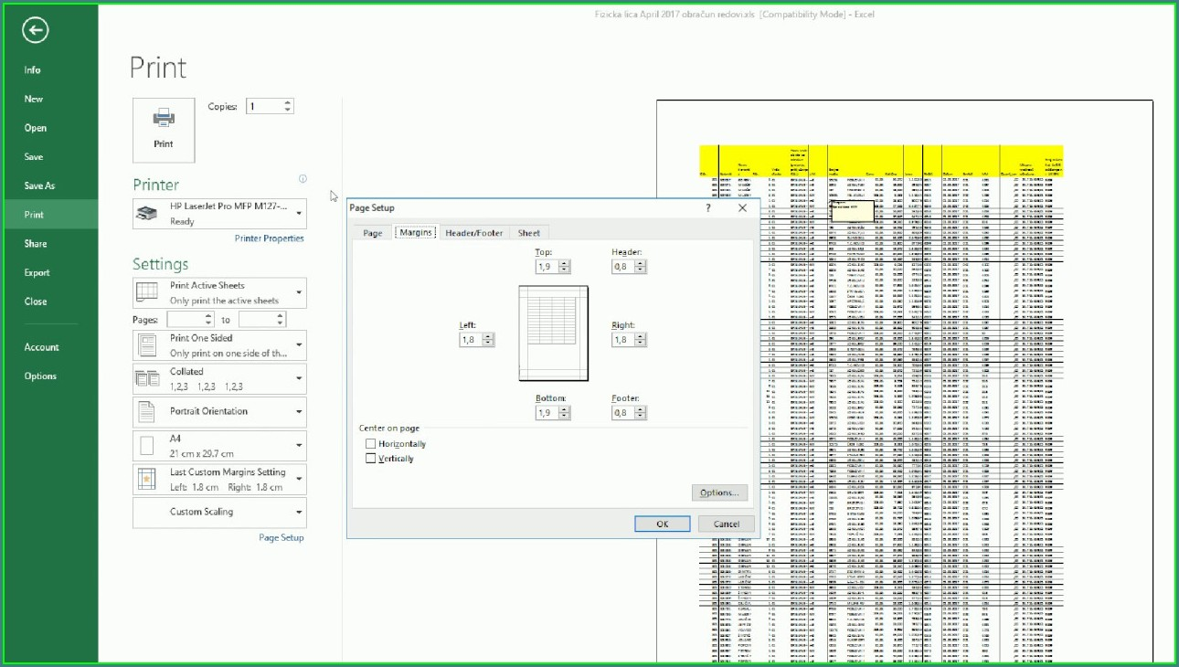 How To Print Excel Worksheet With Comments