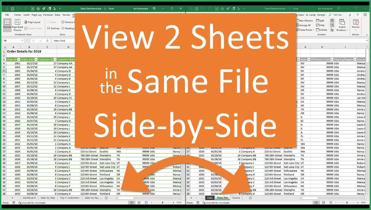 How To Print Excel Worksheets On Separate Pages