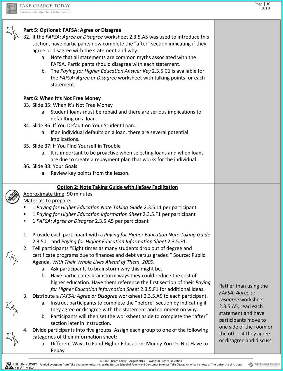 Imanis Fafsa Forecaster Worksheet Answers