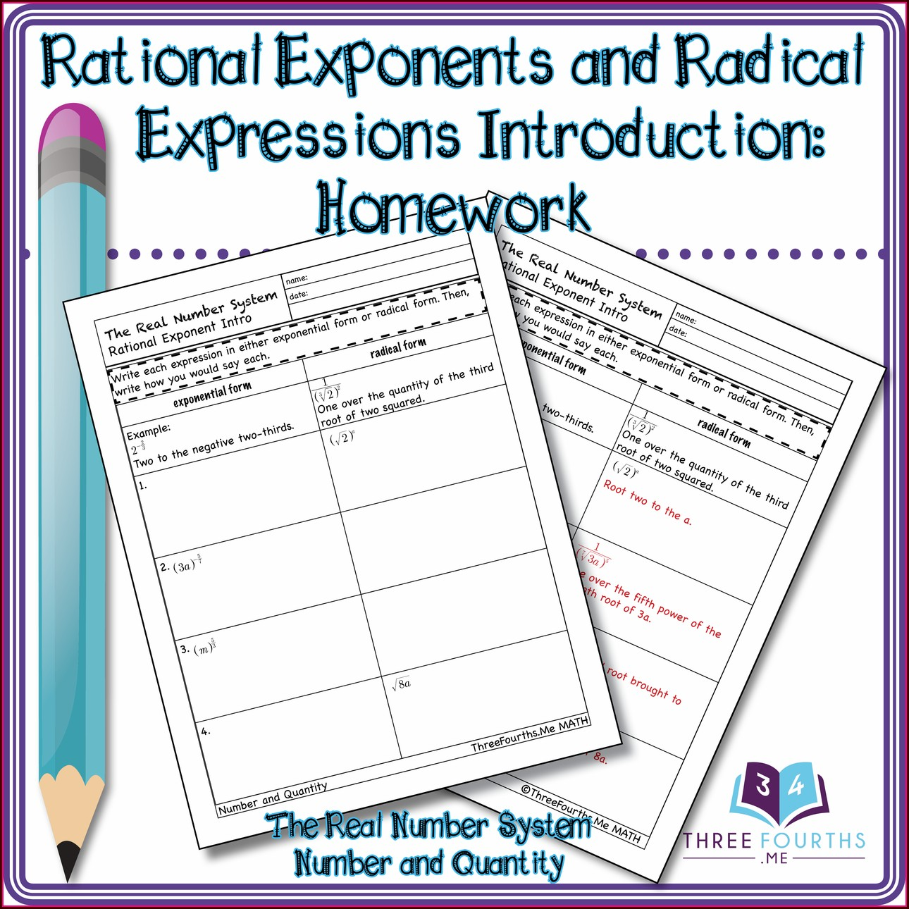 Introduction Rational Numbers Worksheet