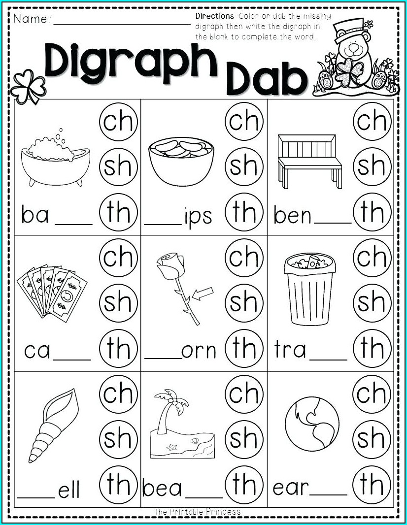 Kindergarten Letter B Phonics Worksheets