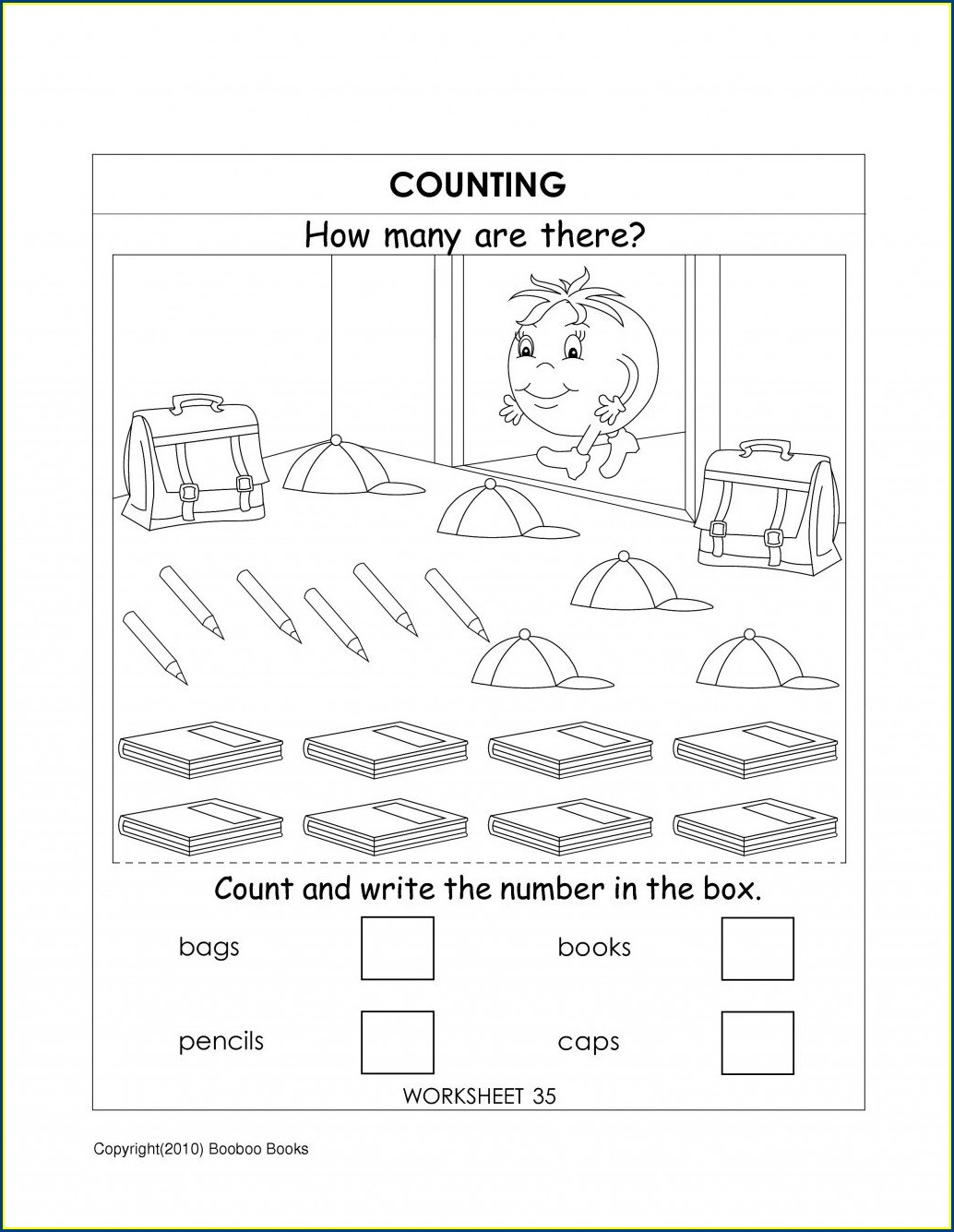Kindergarten Writing Sentences Worksheets Pdf