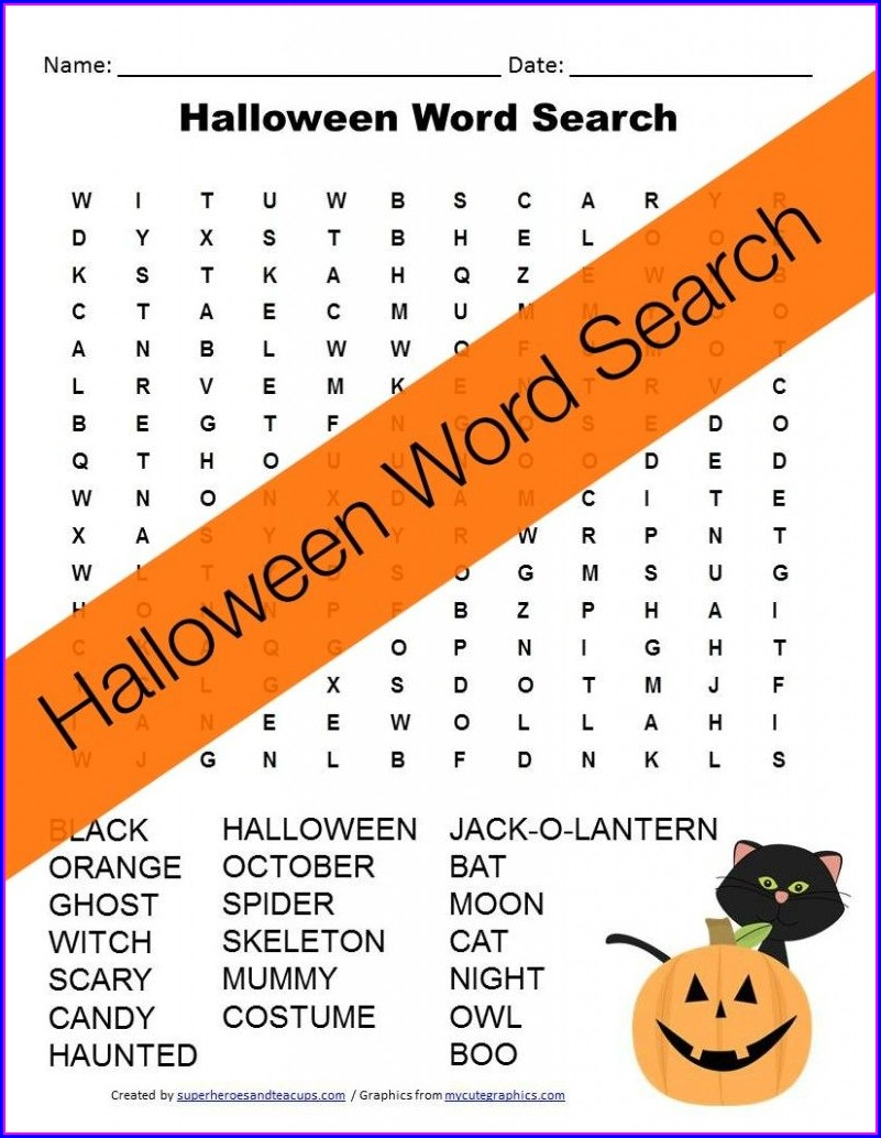Library Word Search Free Printable