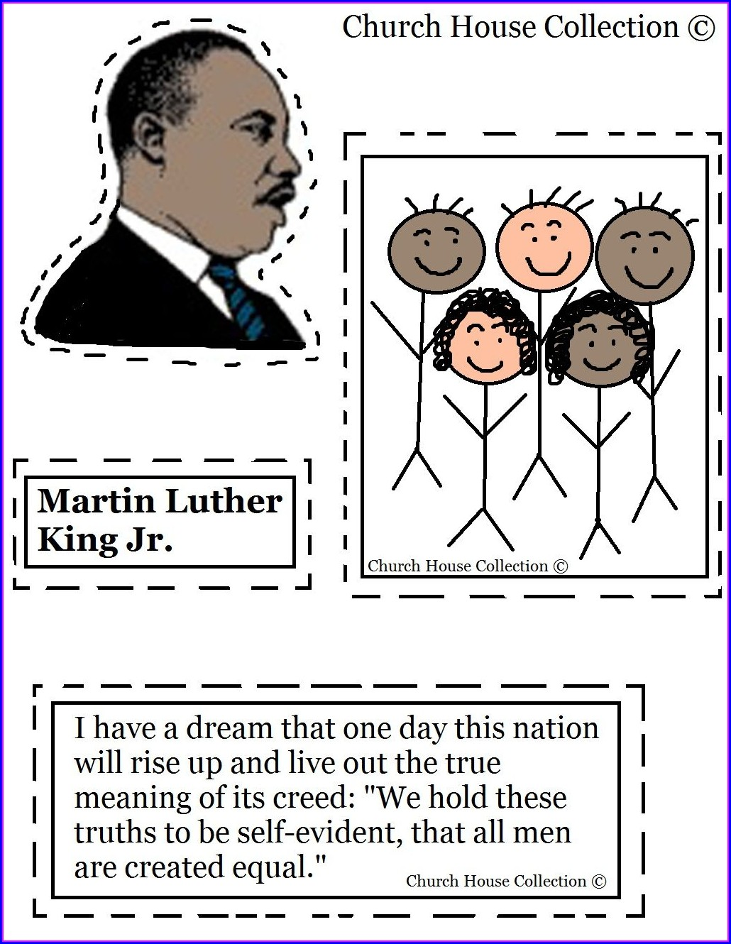 Martin Luther King Jr Worksheets Preschool