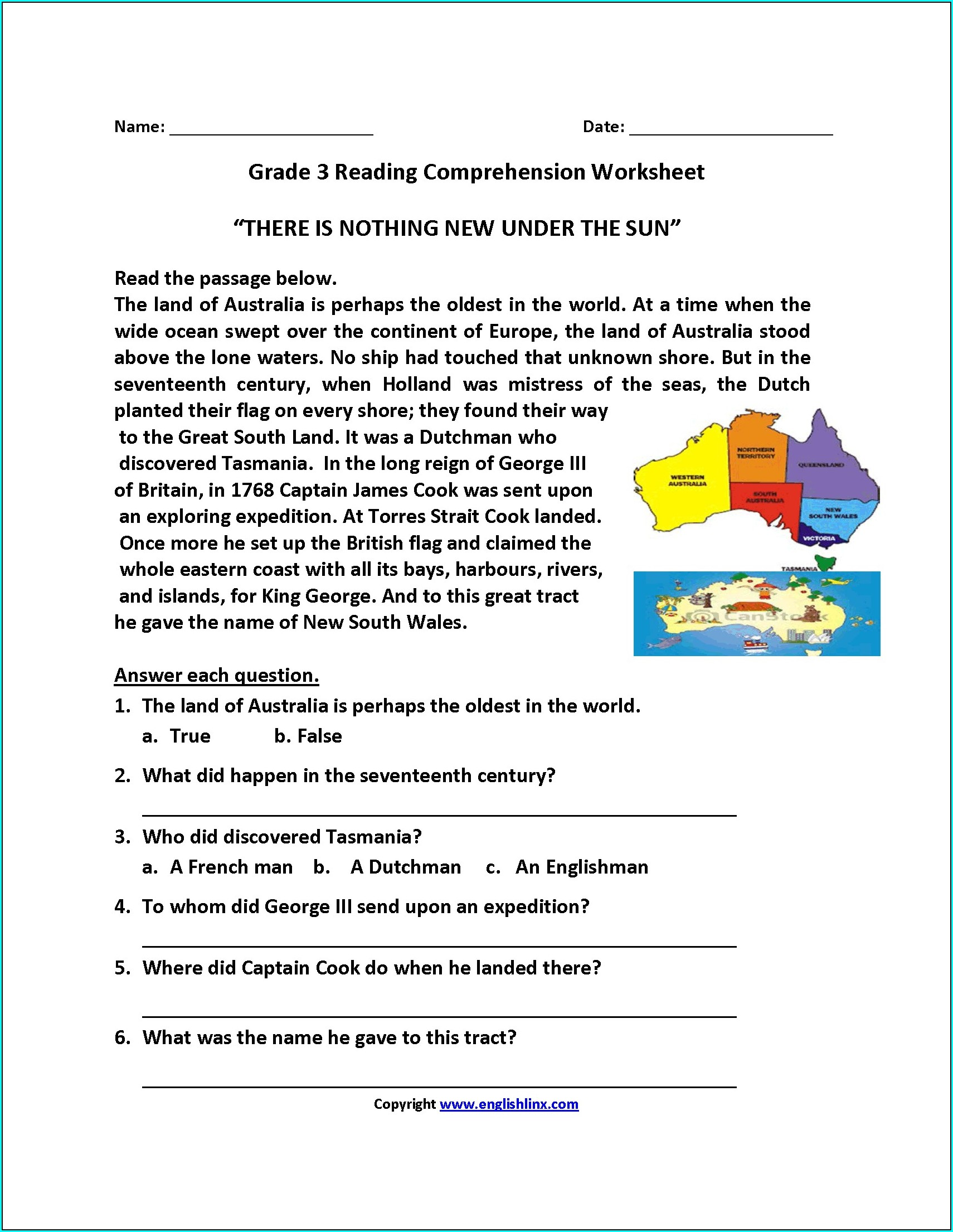 Math Word Problems 7th Grade Worksheet