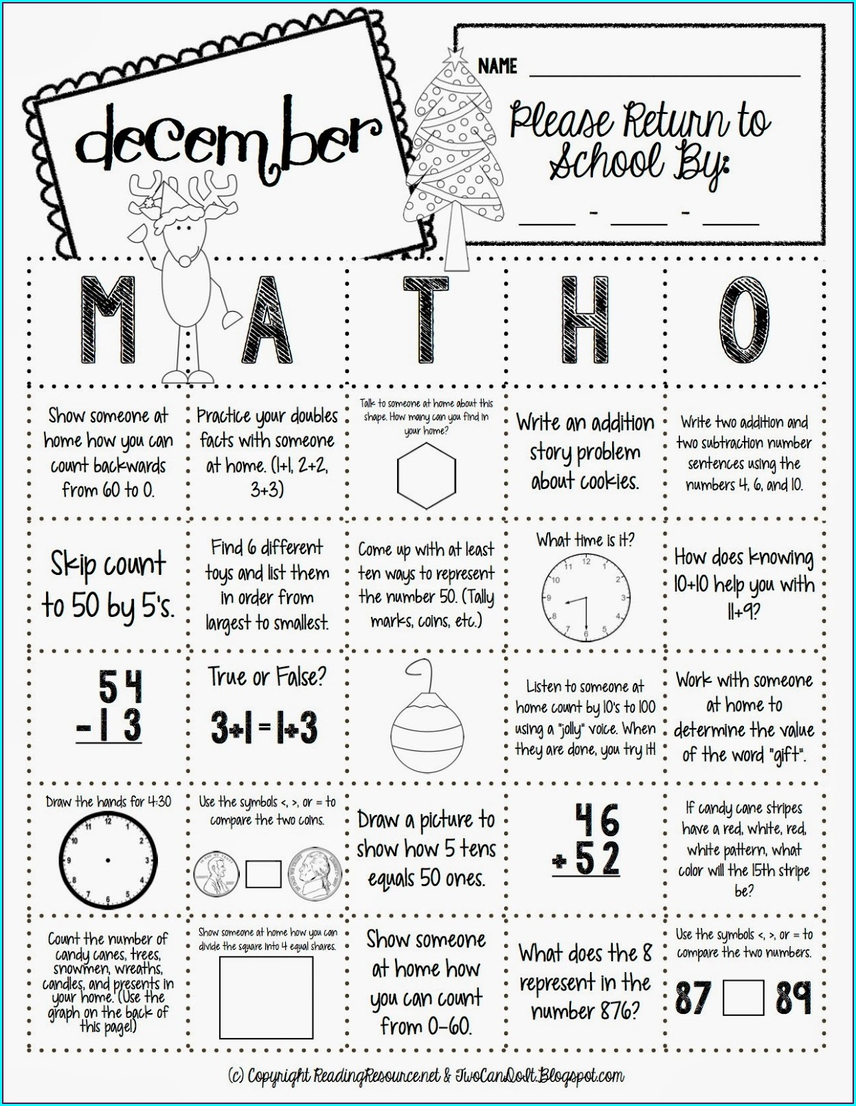 Math Word Problems Worksheets With Answers