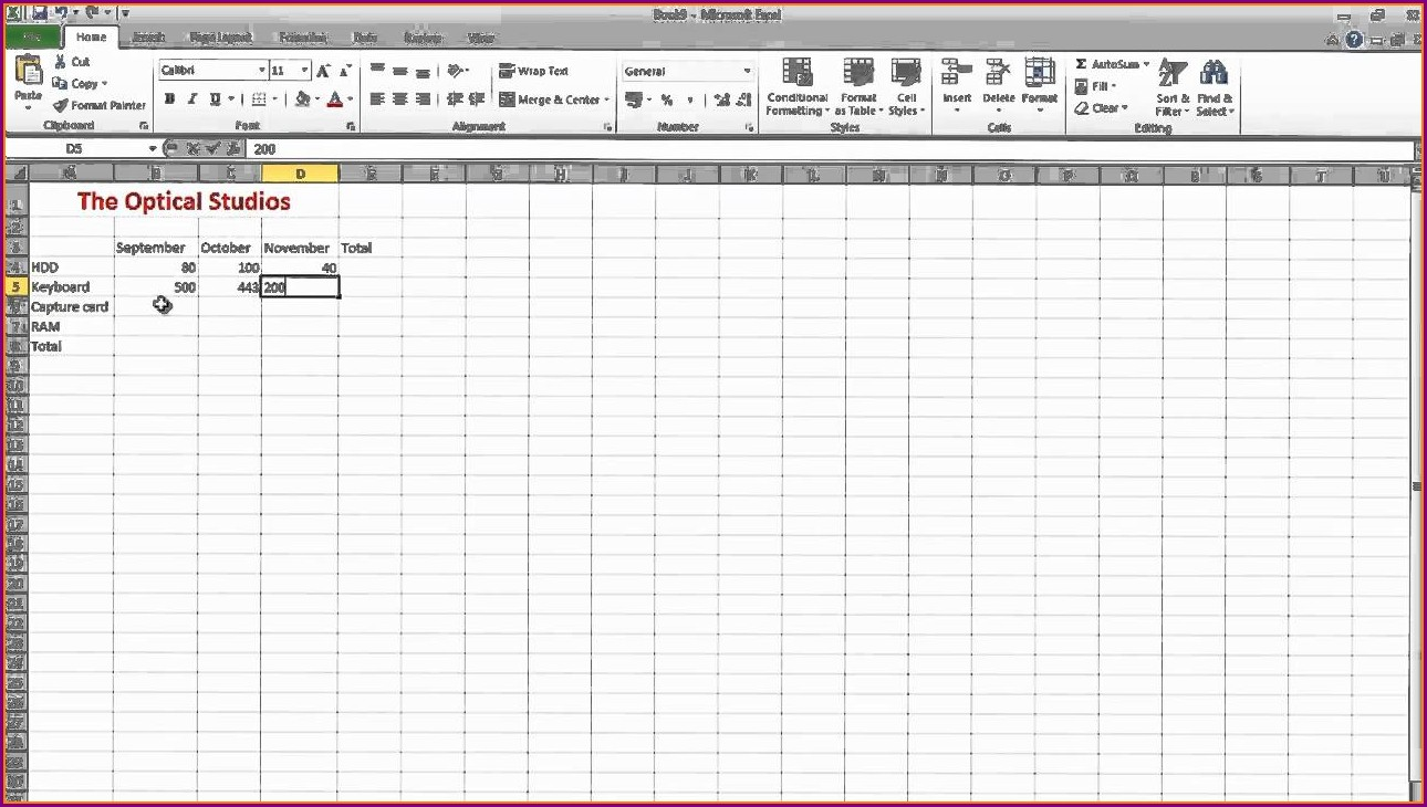 Microsoft Excel Spreadsheet How To