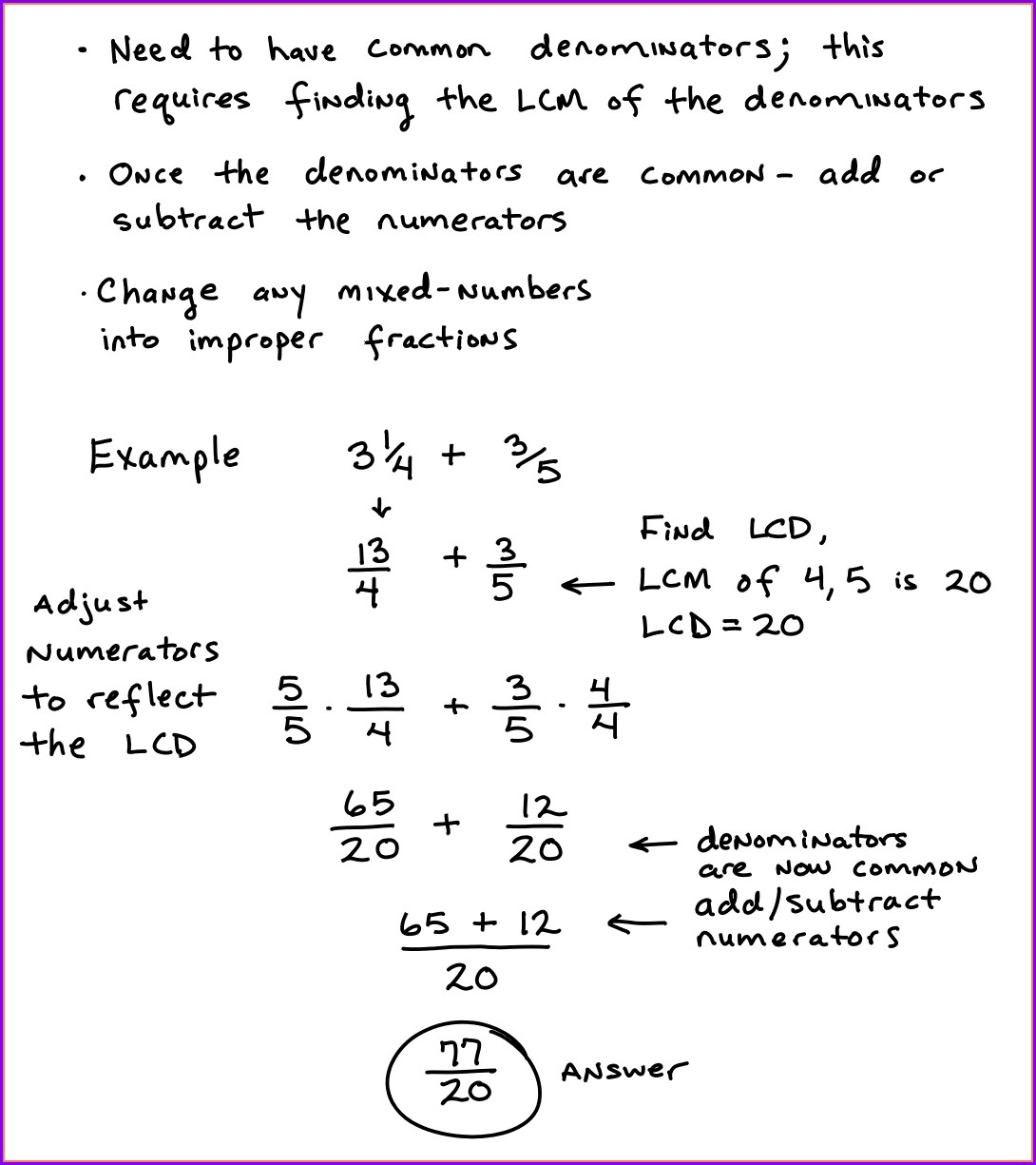 Mixed Numbers Worksheet Tes